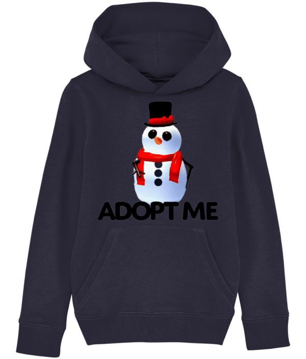 adopt me snowman child's hoodie adopt me