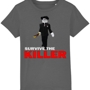 saw blade survive-the-killer child's t-shirt