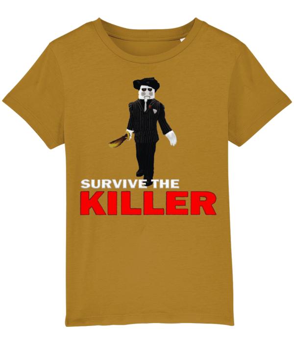 saw blade survive-the-killer child's t-shirt sae blade