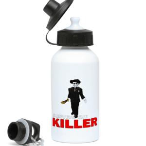 saw blade survive-the-killer 400ml Water Bottle
