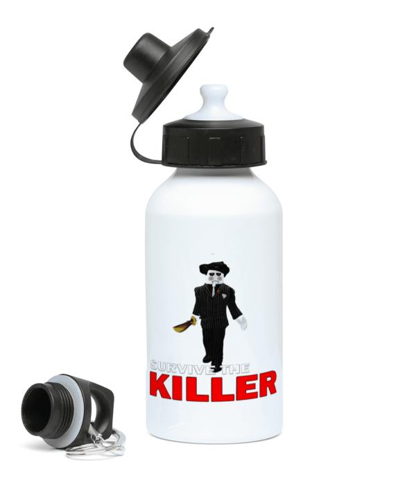 saw blade survive-the-killer 400ml Water Bottle saw blade