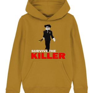 saw blade survive-the-killer child's hoodie