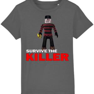 killer kruger survive-the-killer child's t-shirt killer kruger
