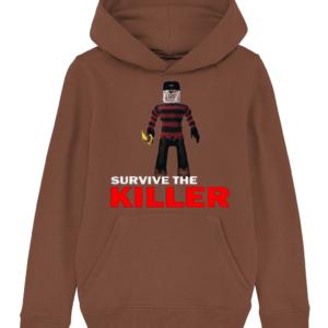 killer kruger survive-the-killer child's t-shirt killer kruger survive-the-killer