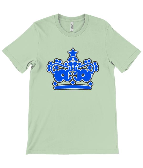 Unisex Crew Neck T-Shirt crown blue crown