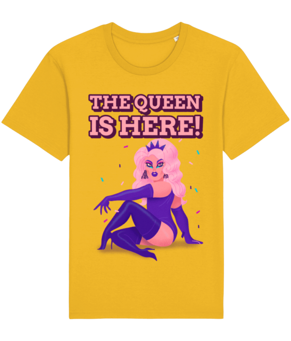 The Queen is here Adults T-shirt adult