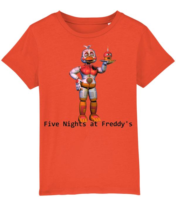 funtime chica child's t-shirt FNaF child's t-shirt FNaF