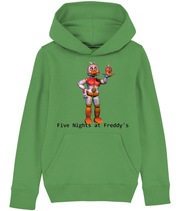 funtime chica FNaF child's hoodie Five nights at Freddy's