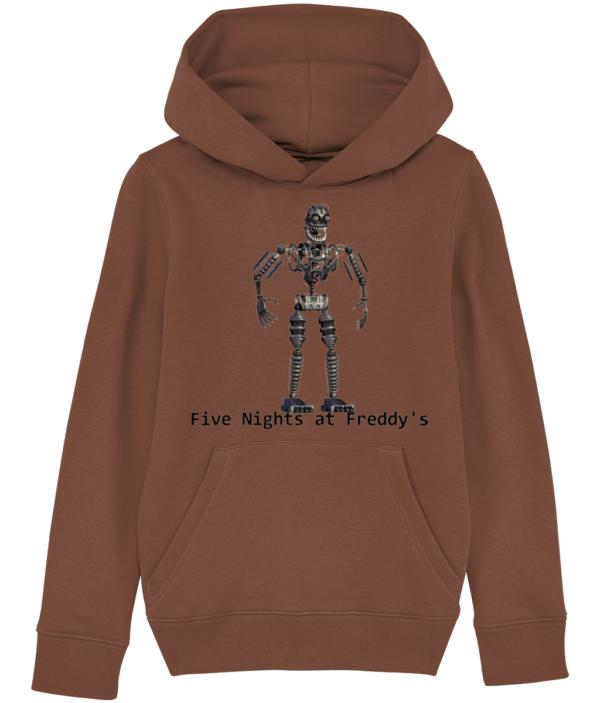 infected endoskeleton child's hoodie FNaF