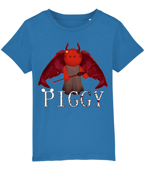 devil piggy detail child's t-shirt devil piggy