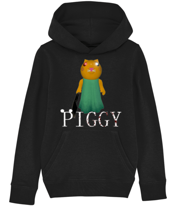 kitty from piggy game  child's hoodie kitty