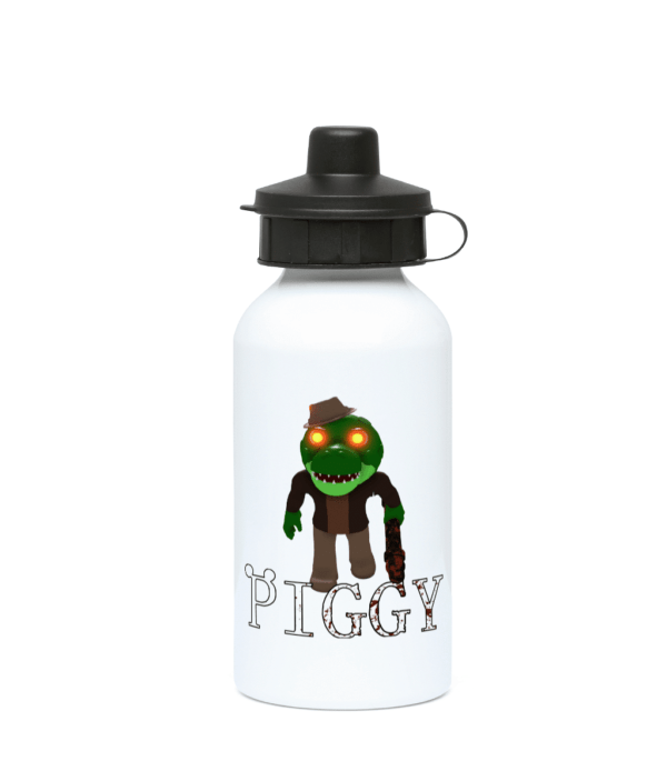 Alfred alligator from Piggy, 400ml Water Bottle