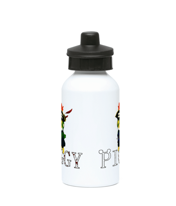 budgey infected from piggy game 400ml Water Bottle budgey