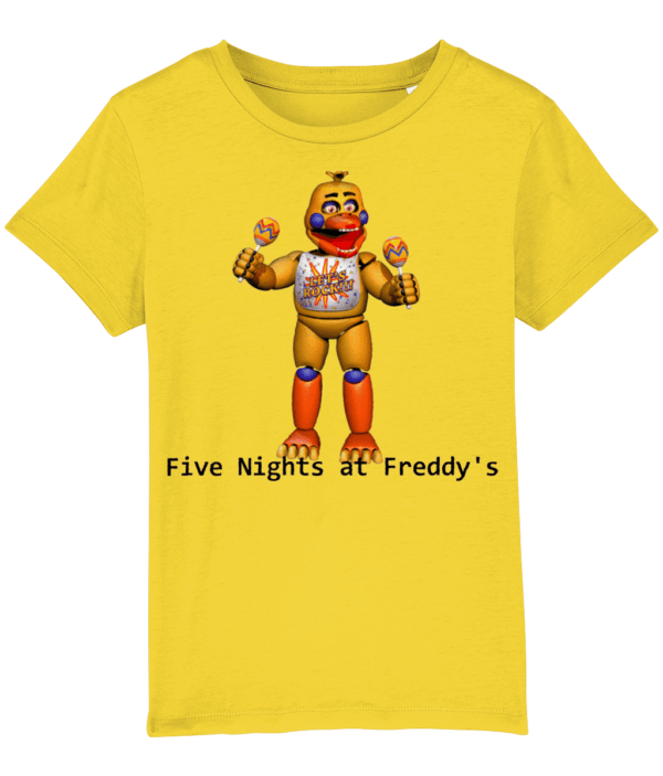 Rockstar chica from Five nights at Freddy's child's t-shirt Five nights at Freddy's