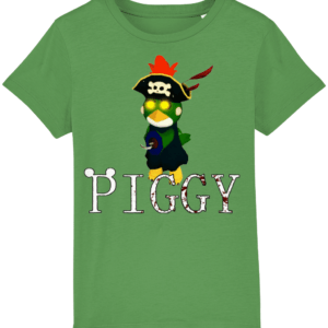 budgey infected from piggy game child's t-shirt