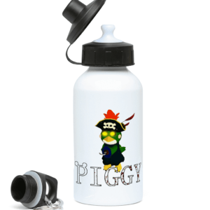 budgey infected from piggy game 400ml Water Bottle