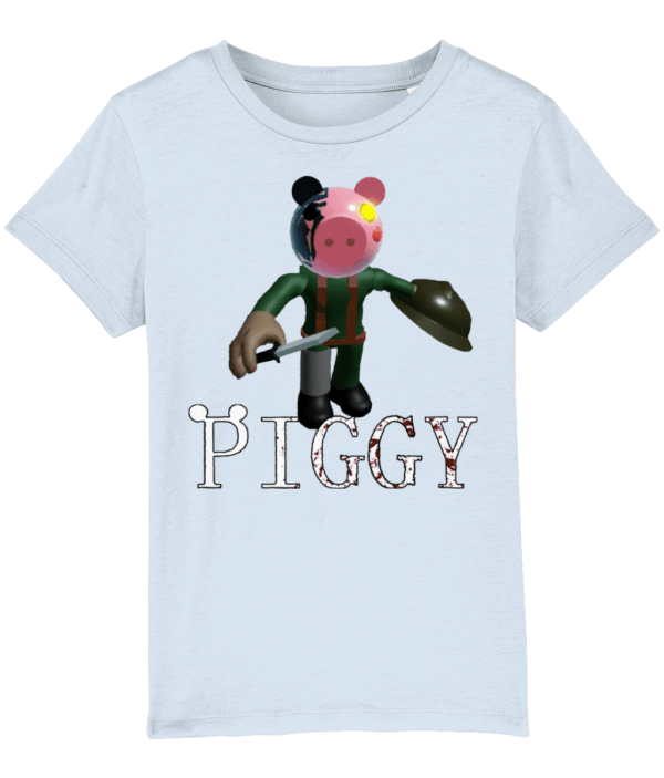 Soldier from piggy game child's t-shirt piggy