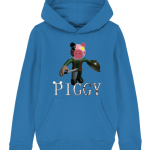 Soldier from piggy game child's hoodie piggy