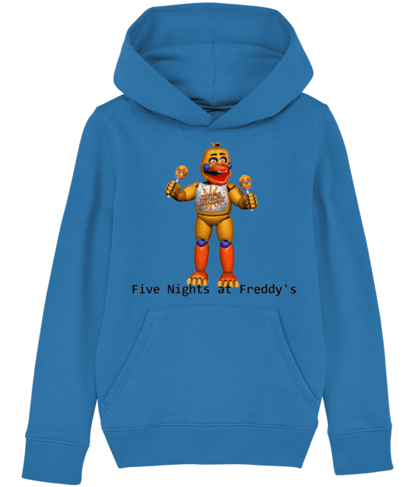 Rockstar chica from Five nights at Freddy's child's hoodie Five nights at Freddy's