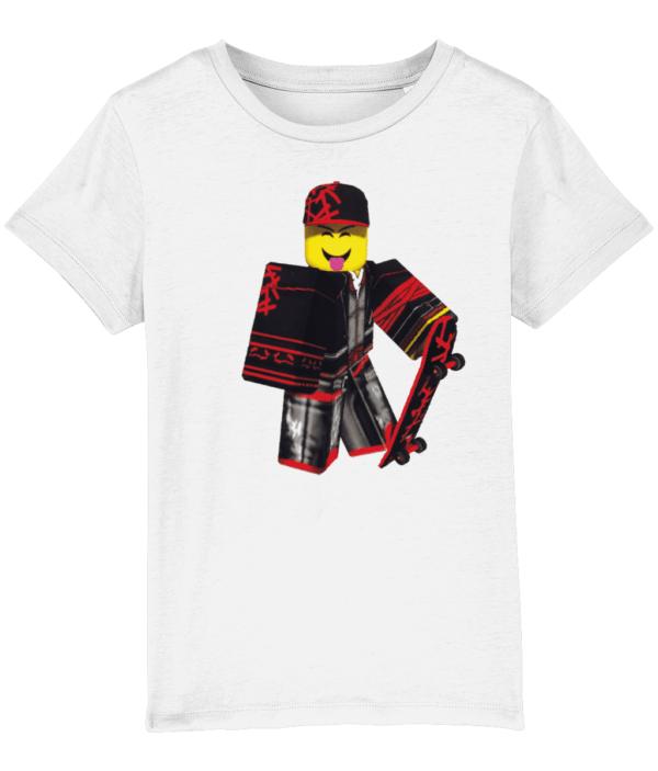 Skaterboi from Roblox kids tshirt
