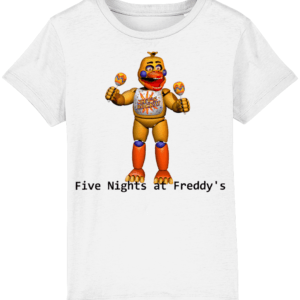Rockstar chica from Five nights at Freddy's child's t-shirt