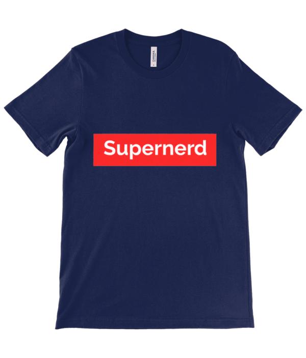 Supernerd adult's Unisex Crew Neck T-Shirt Supernerd