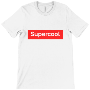 supercool  adult's Unisex Crew Neck T-Shirt