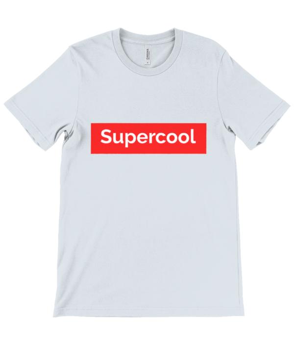 supercool  adult's Unisex Crew Neck T-Shirt supercool