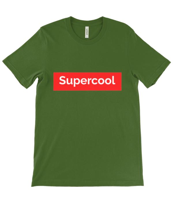 supercool  adult's Unisex Crew Neck T-Shirt