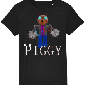doggy returns from Piggy child's t-shirt