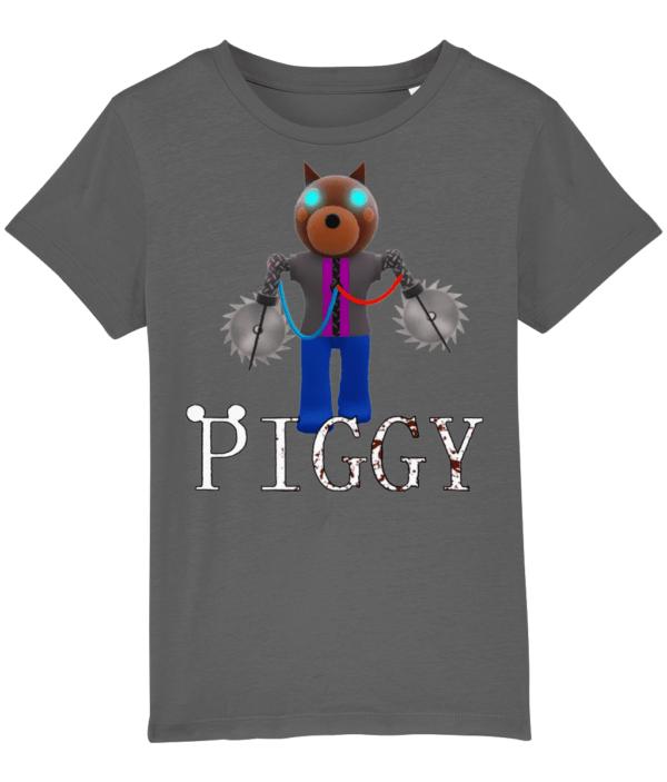 doggy returns from Piggy child's t-shirt