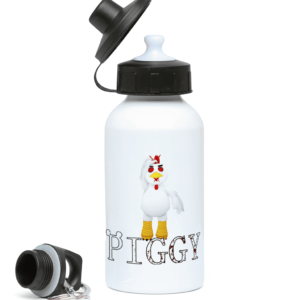 Charlie the chicken skin from Piggy 400ml Water Bottle