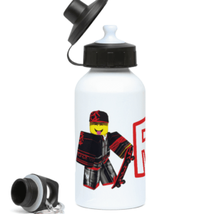 skaterboi from Roblox 400ml Water Bottle