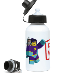starlass from super hero life 400ml Water Bottle