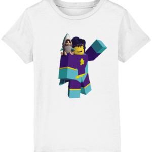 starlass from super hero life child's t-shirt