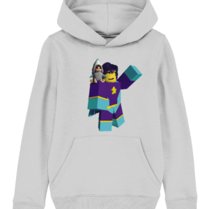 starlass from super hero life roblox child's hoodie