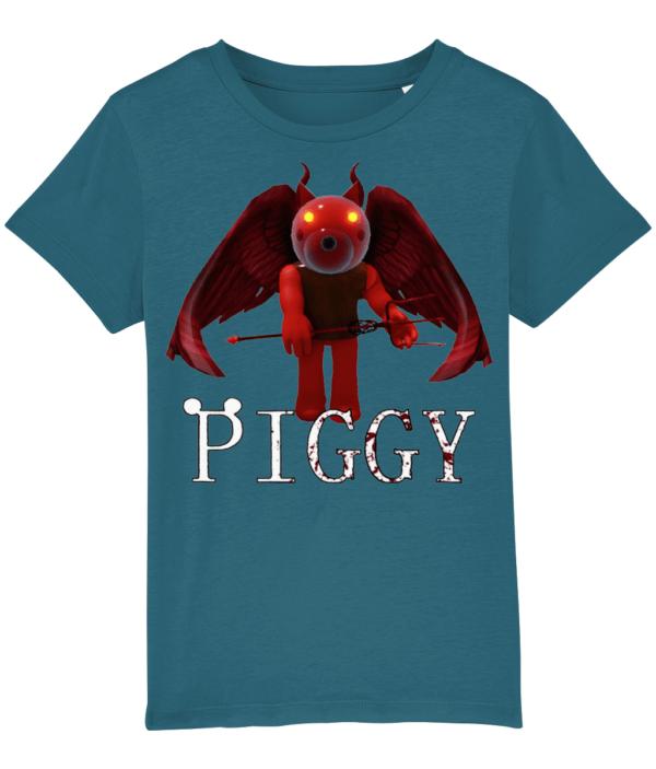 Devil Doggy skin from piggy game child's t-shirt Devil Doggy skin
