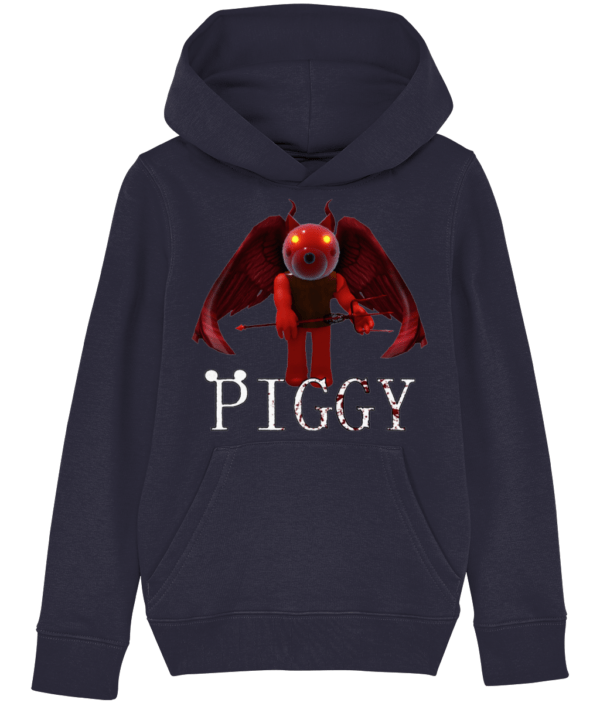 Devil Doggy skin from piggy game child's hoodie Devil Doggy skin