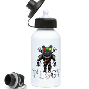 Monster skin from piggy game 400ml Water Bottle