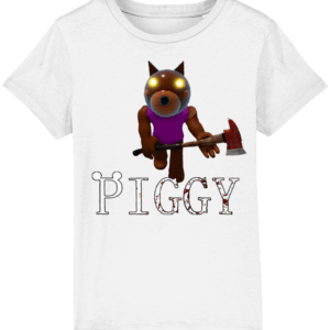 Doggy skin from piggy game child's t-shirt