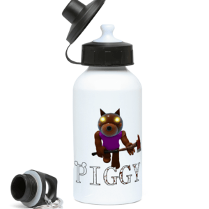Doggy skin from piggy game 400ml Water Bottle