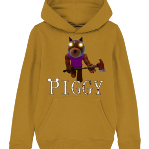 Doggy skin from piggy game child's hoodie