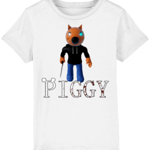 Foxy skin from piggy game child's t-shirt
