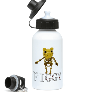 Skelly skin from piggy game 400ml Water Bottle