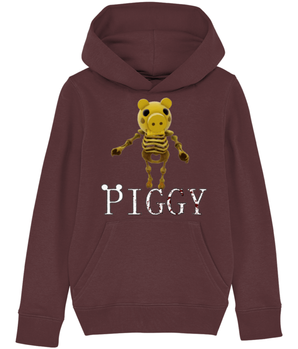 Skelly skin from piggy game child's hoodie piggy