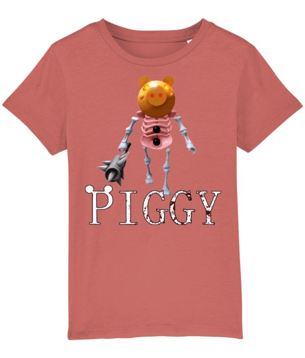 Pumpkin Killer Skelly Skin from Piggy child's t-shirt Pumpkin Killer Skelly Skin