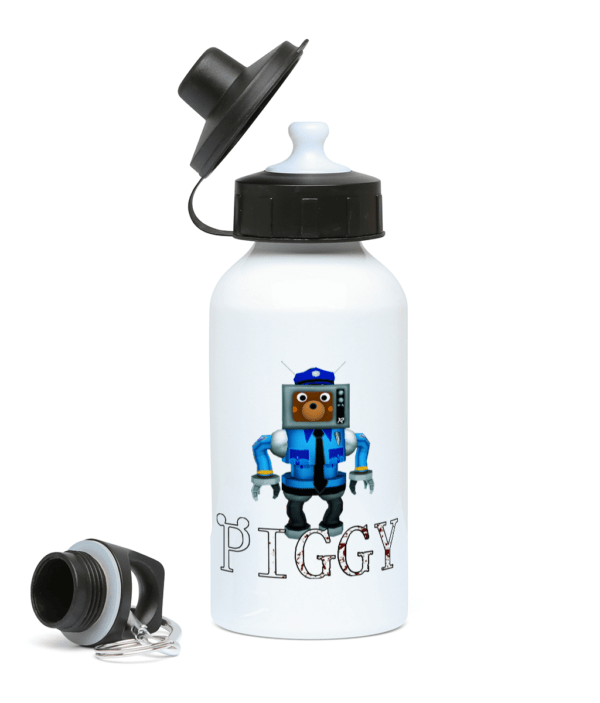 Robot doggy Skin from Piggy 400ml Water Bottle Robot doggy Skin