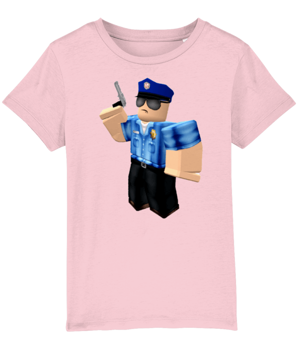 Roblox police officer child's t-shirt Roblox police officer