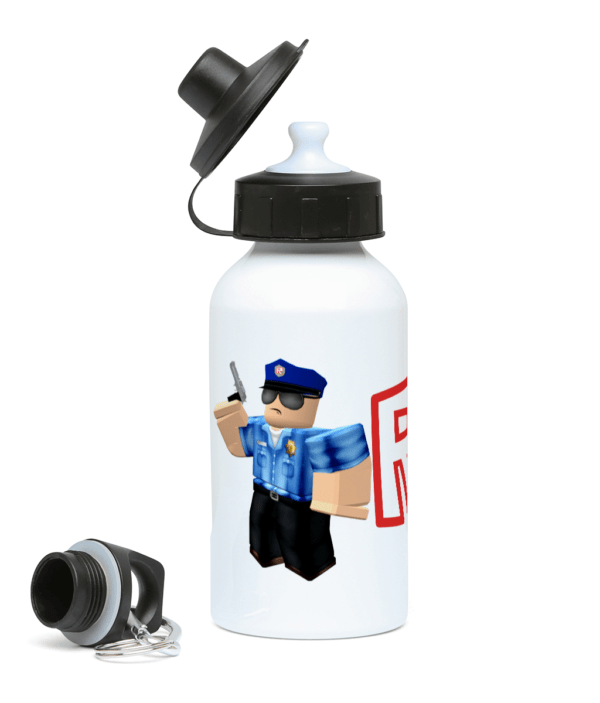 Roblox police officer 400ml Water Bottle Roblox police officer