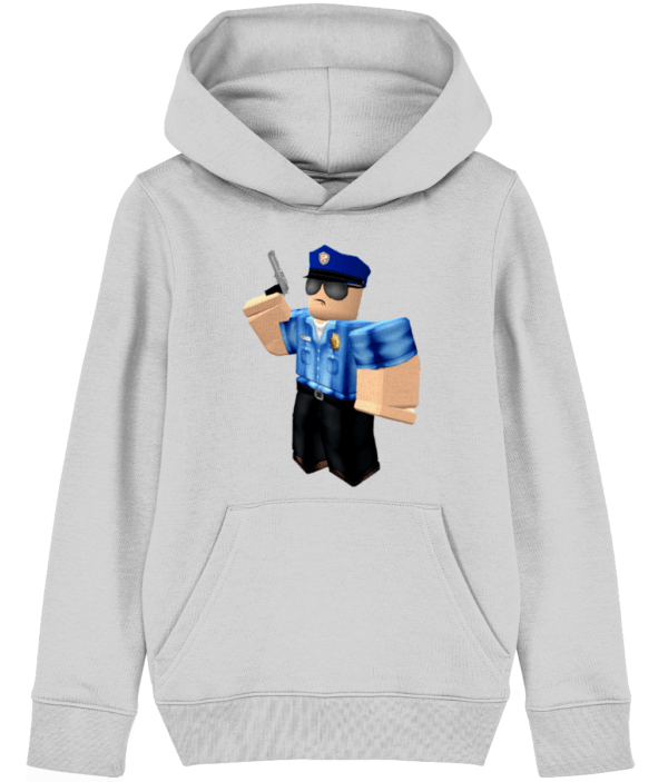 Roblox police officer child's hoodie Roblox police officer
